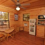 River's Edge Resort: Jack's Cabin Interior View