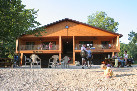 River cabin condos off the current river eminence mo river s edge